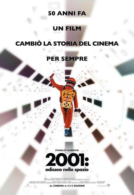 2001: ODISSEA NELLO SPAZIO - VERSIONE RESTAURATA - 50 ANNIVERSARIO